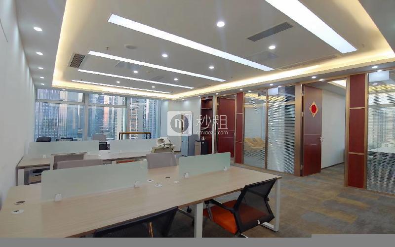 前海卓越时代广场写字楼出租245平米精装办公室118元/m².月