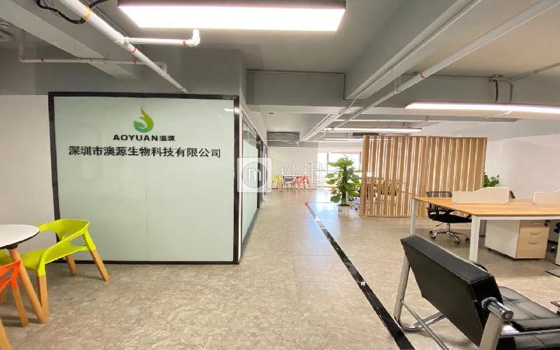 深圳湾科技生态园(一期)米6体育下载出租253平米精装办公室80元/m².月