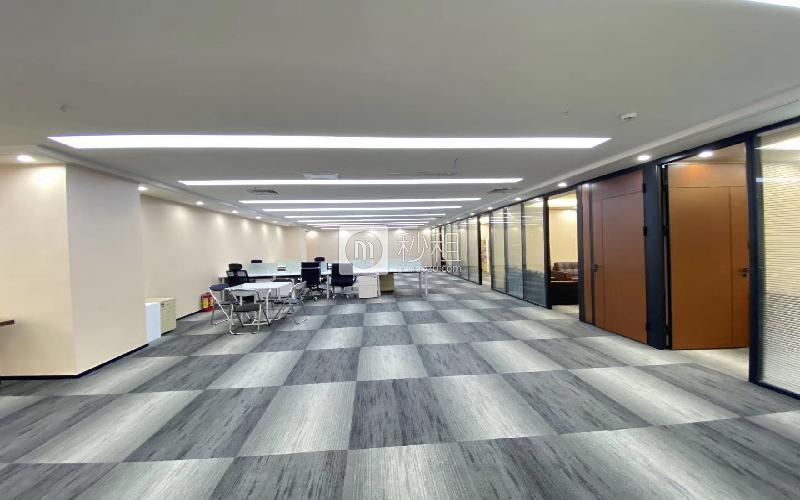中科智宏大廈寫字樓出租615平米精裝辦公室100元/m2.月