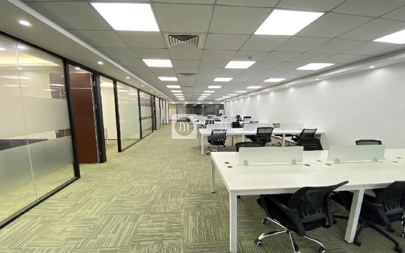 中科智宏大廈寫字樓出租401平米精裝辦公室100元/m2.月