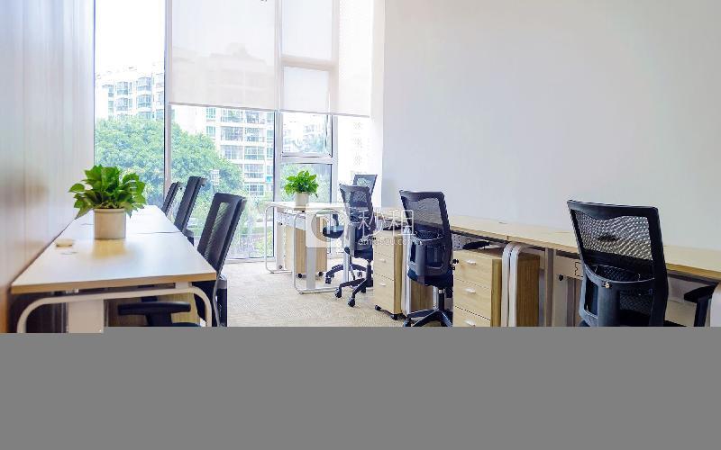 众里创业社区-御景湾写字楼出租30平米精装办公室6800元/间.月
