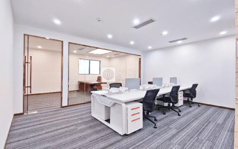 海王星辰大厦写字楼出租114平米精装办公室135元/m².月