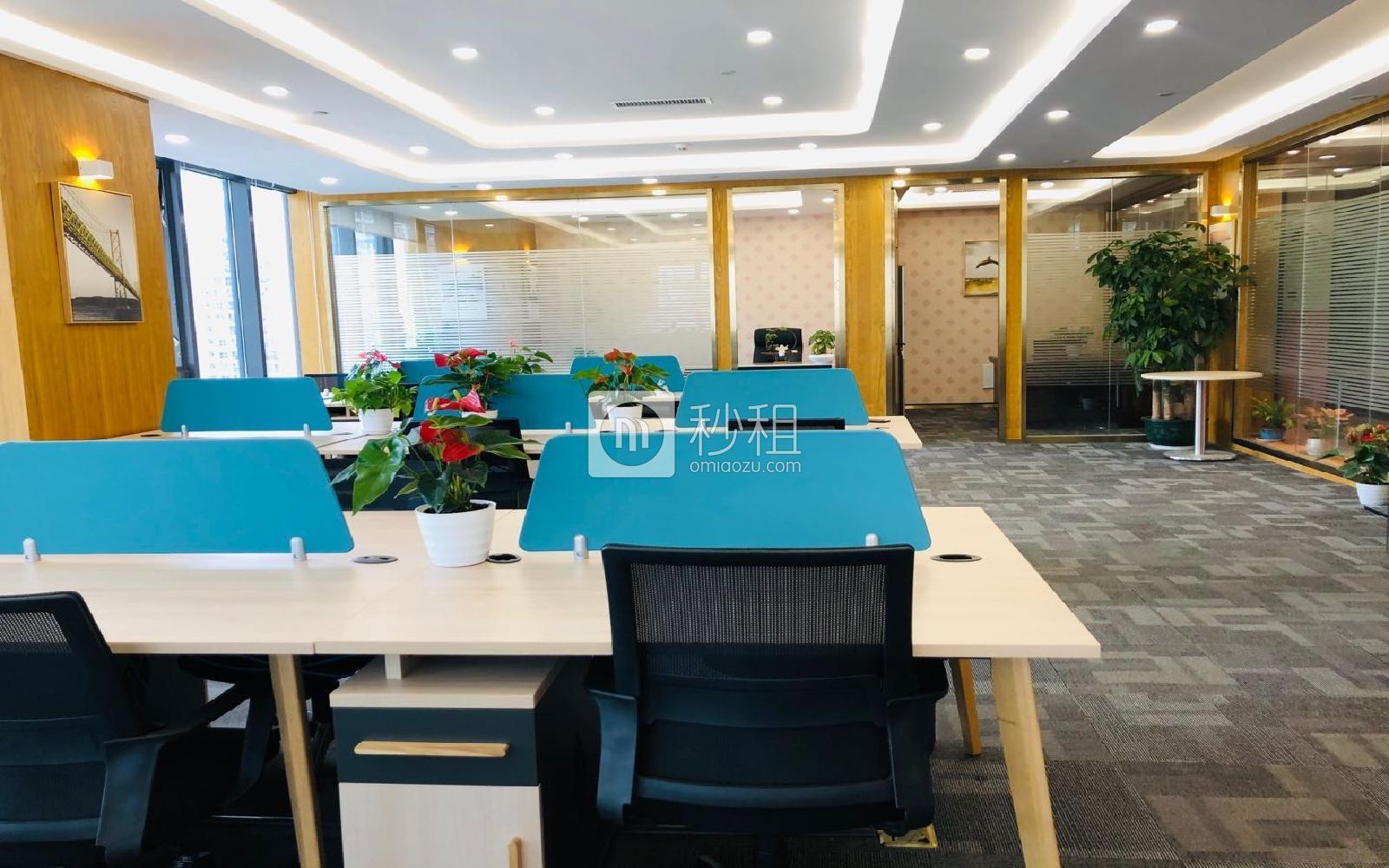 大新時代大廈寫字樓出租288平米精裝辦公室98元/m2.月