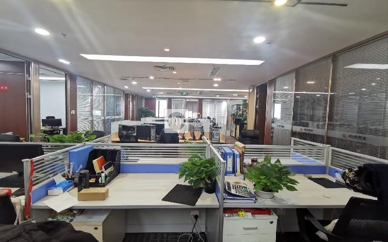 深圳湾科技生态园(二期)写字楼出租968平米豪装办公室70元/m².月