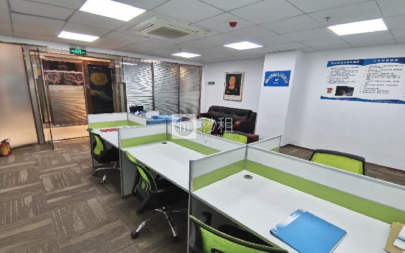 安华工业区写字楼出租72平米精装办公室5000元/月