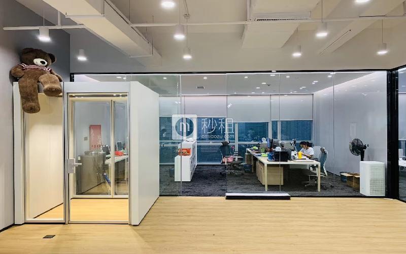 讯美科技广场写字楼出租430平米精装办公室90元/m².月