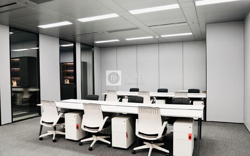 漢京國際大廈寫字樓出租200平米豪裝辦公室45000元/間.月