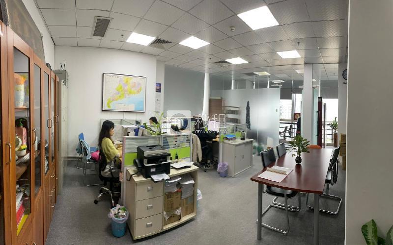 漢京國際大廈寫字樓出租120平米精裝辦公室125元/m2.月