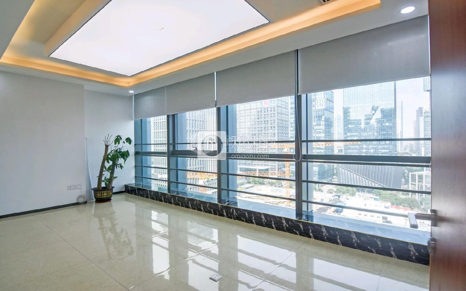 粵美特大廈寫字樓出租597平米精裝辦公室70元/m2.月