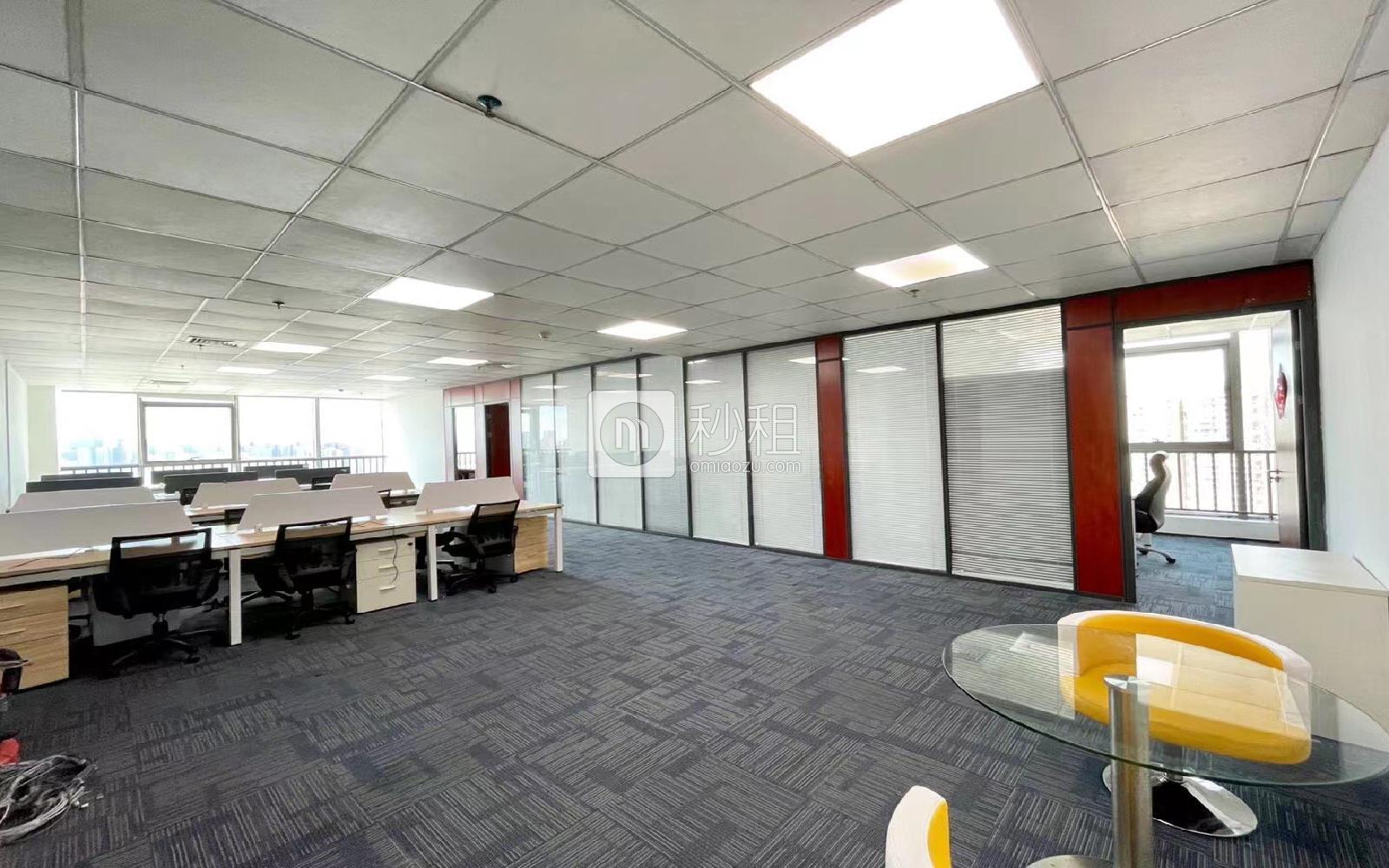 南园枫叶大厦写字楼出租375平米精装办公室80元/m².月