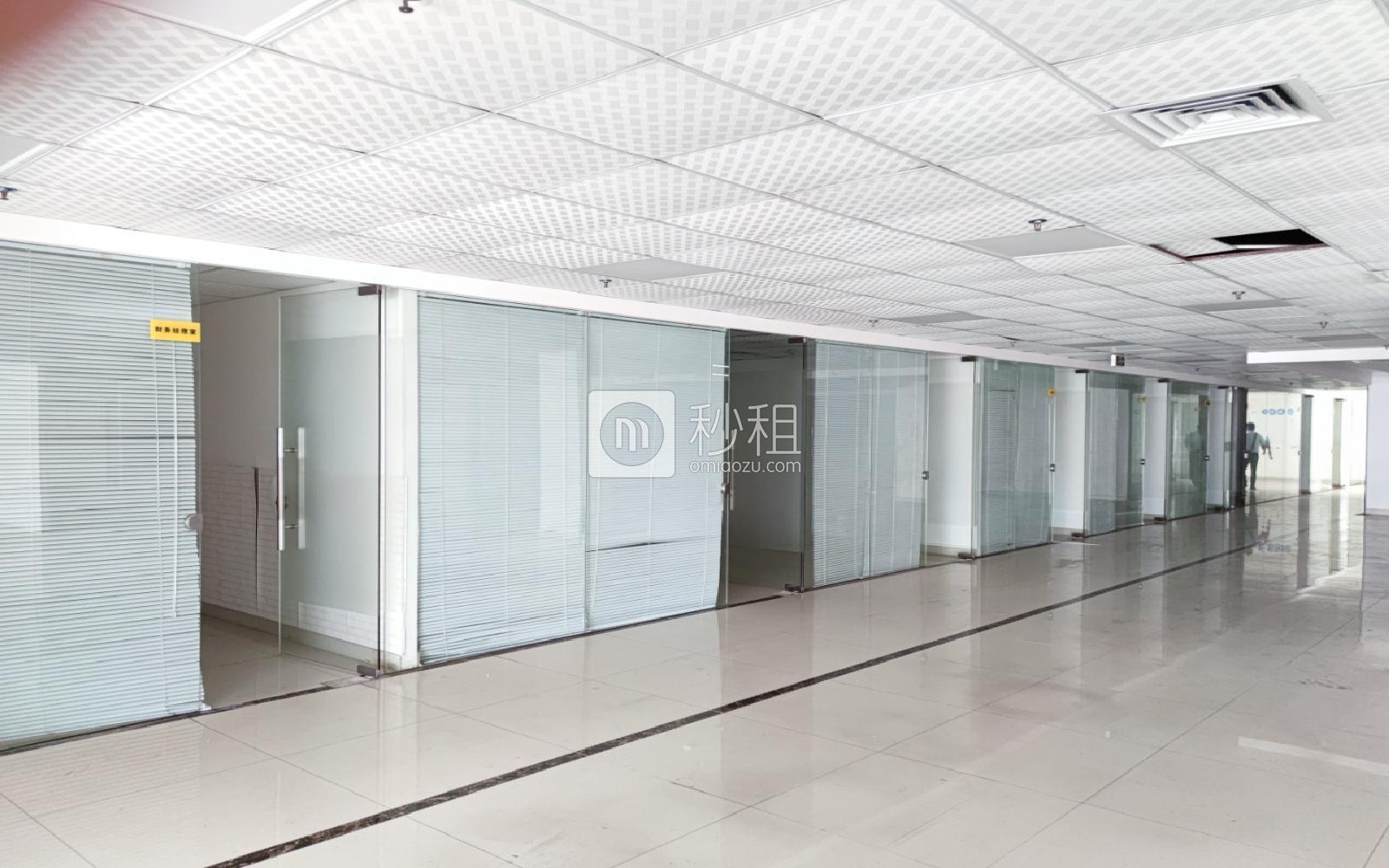 華瀚科技大廈寫字樓出租1650平米精裝辦公室65元/m2.月