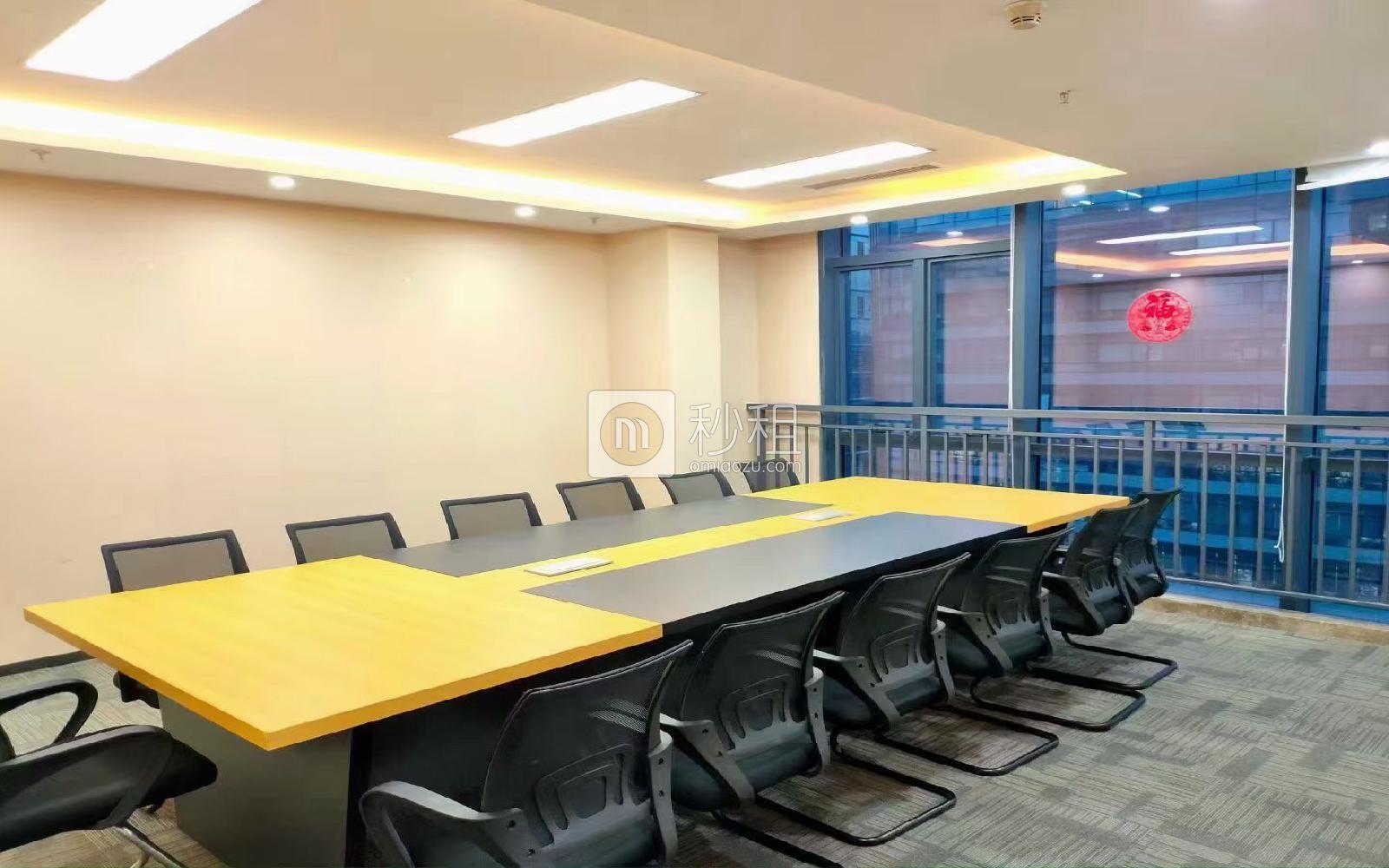 比克科技大廈寫字樓出租1038平米精裝辦公室65元/m2.月