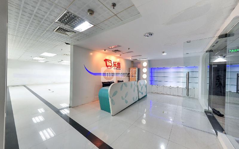 苍松大厦写字楼出租296平米简装办公室110元/m².月