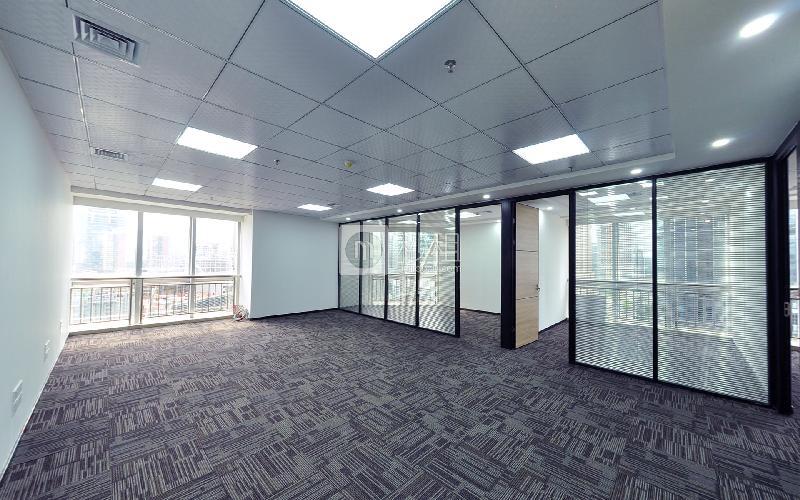 深圳国际商会中心写字楼出租220平米豪装办公室208元/m².月