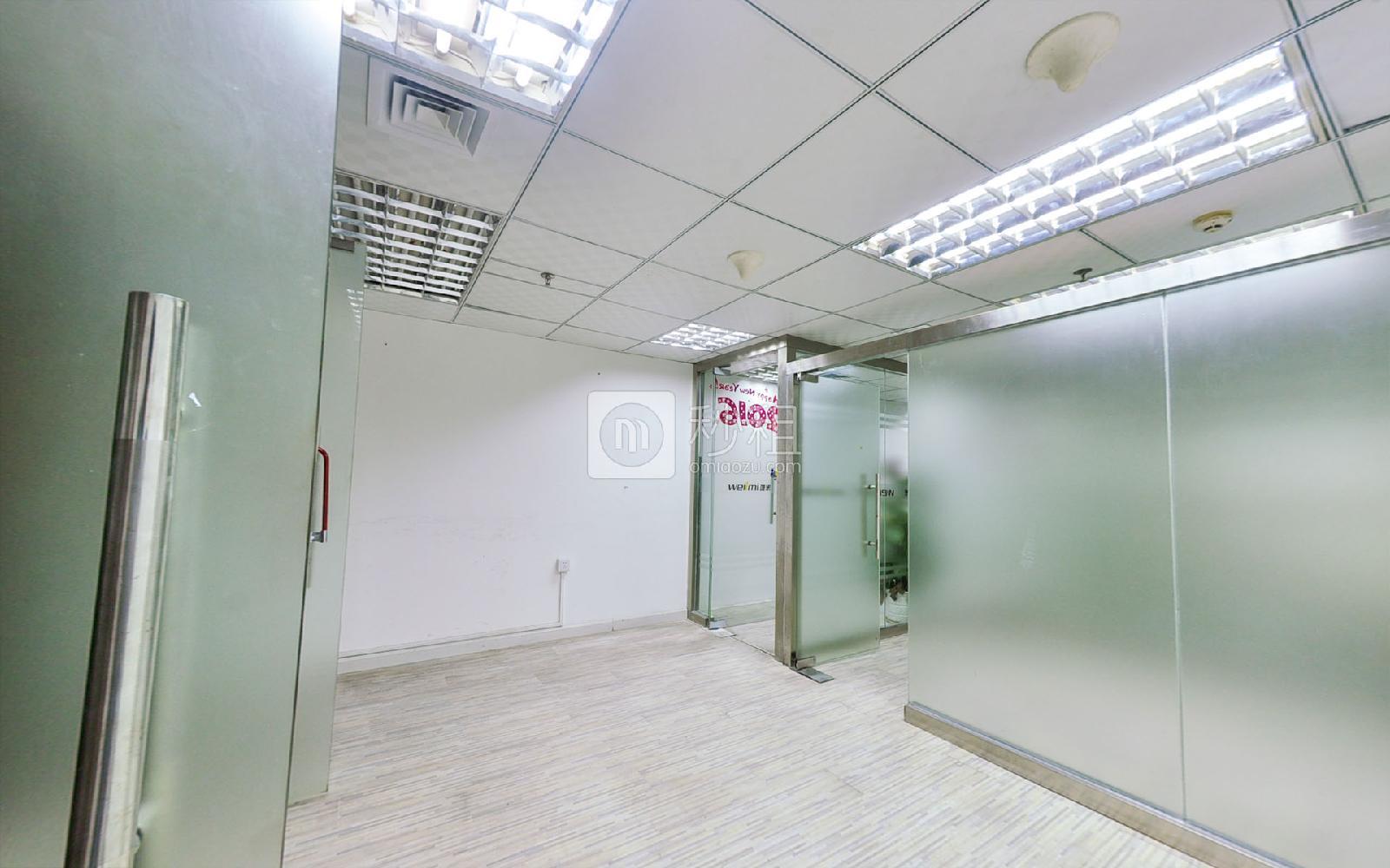 电子科技大厦写字楼出租190平米简装办公室145元/m².月