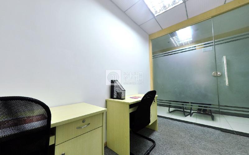 企创商务中心-天济大厦写字楼出租12平米精装办公室2580元/间.月