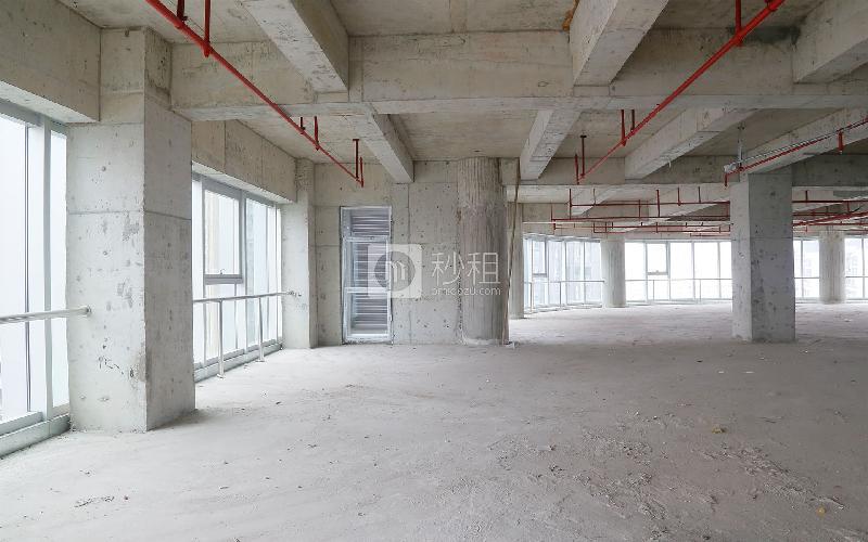 金润国际大厦写字楼出租4500平米毛坯办公室100元/m².月