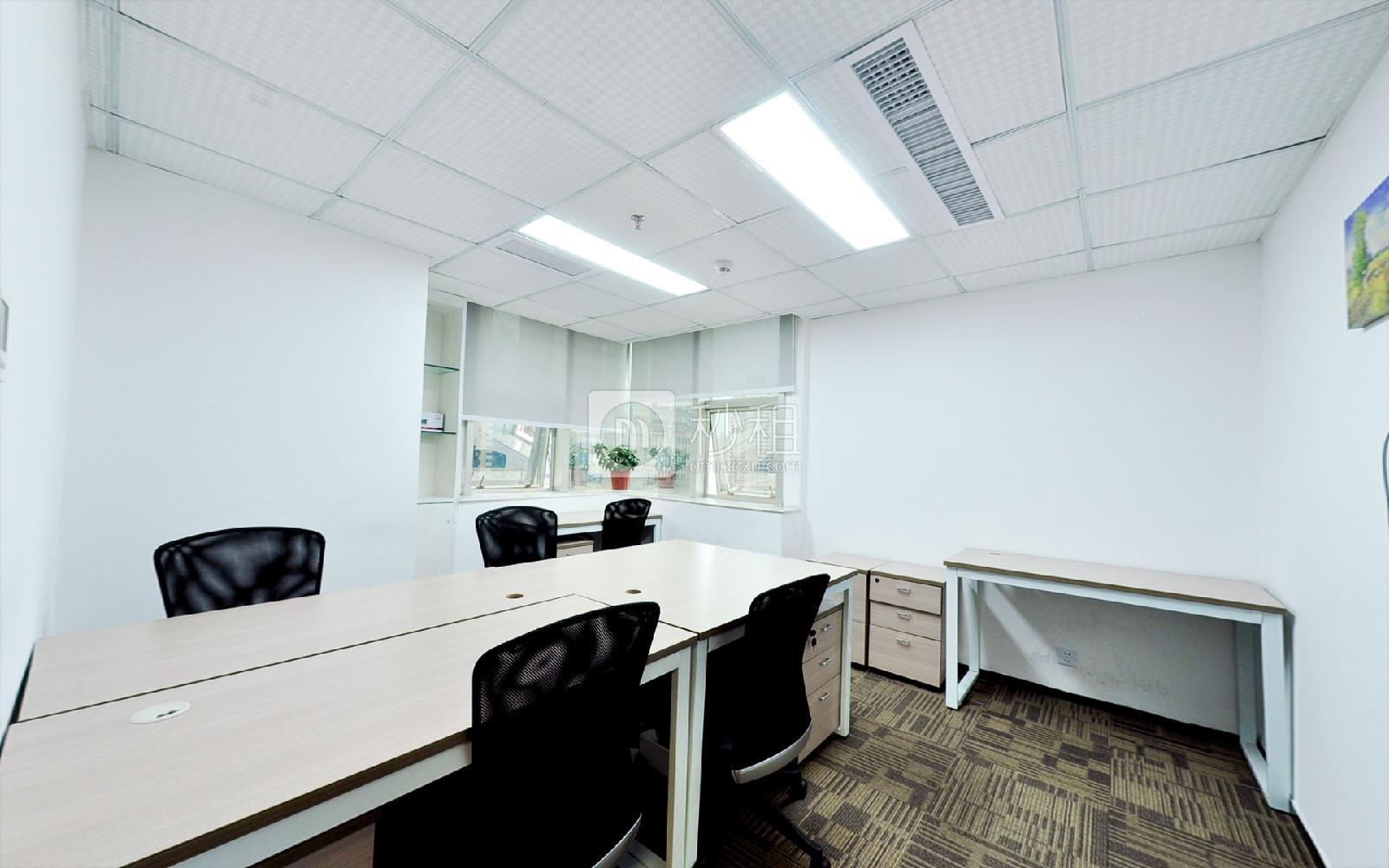 鸿空间-航都大厦写字楼出租27平米精装办公室5600元/间.月