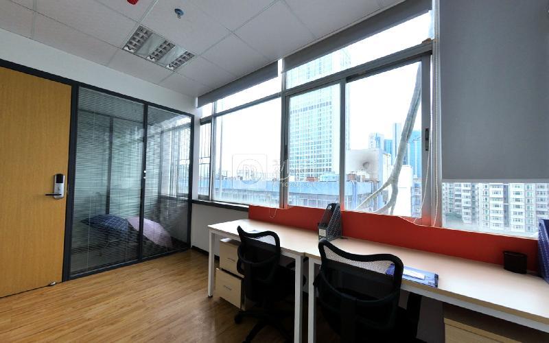 賽格科技園-賽格商務中心寫字樓出租15平米精裝辦公室2780元/間.月