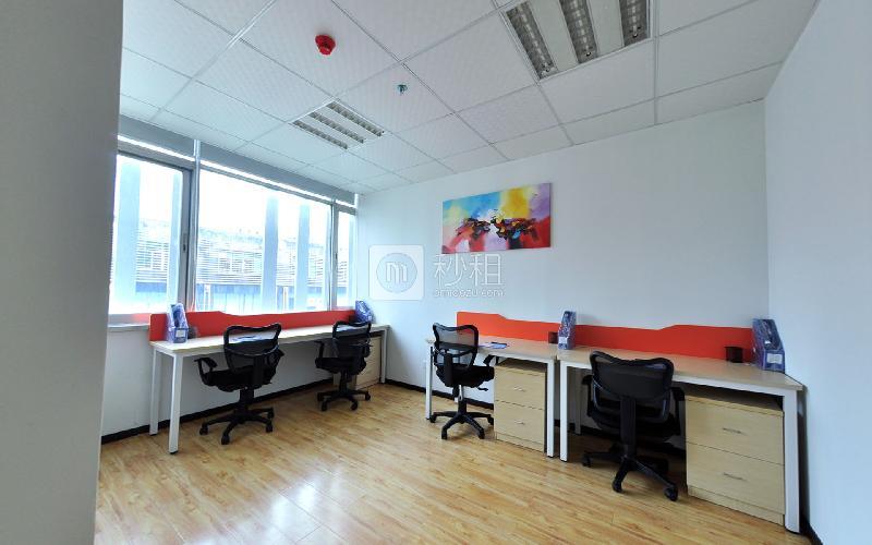 賽格科技園-賽格商務中心寫字樓出租25平米精裝辦公室3880元/間.月