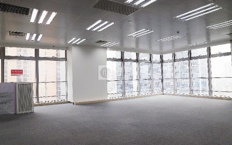 丽丰中心写字楼出租600平米简装办公室140元/m².月