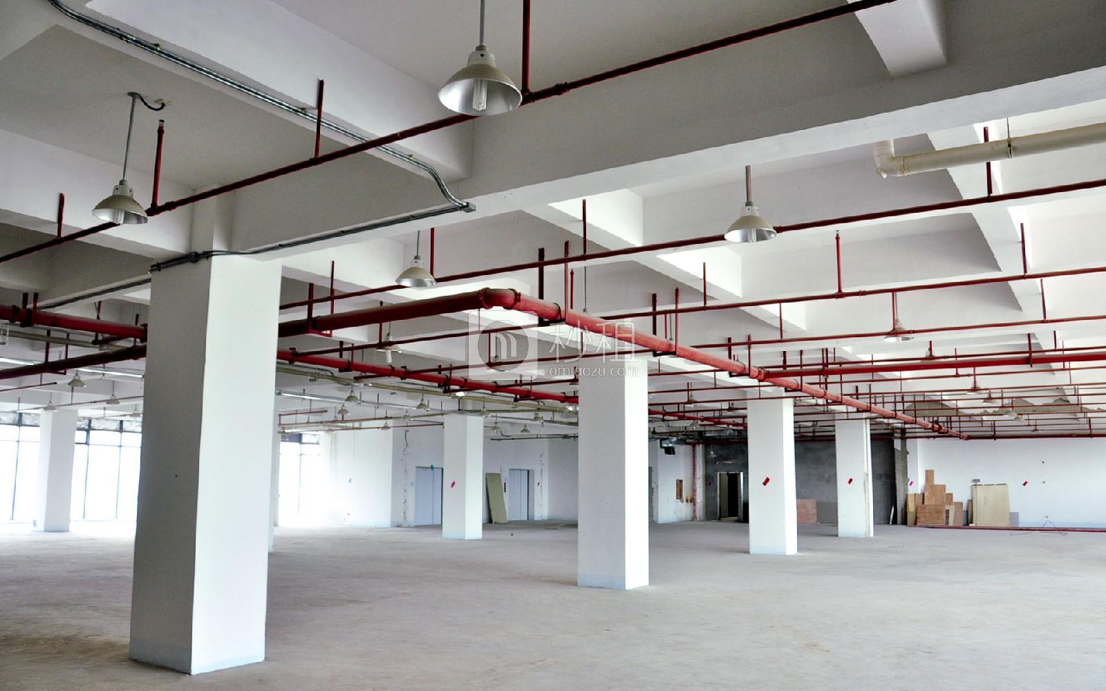 华宝一号大厦写字楼出租1000平米毛坯办公室80元/m².月