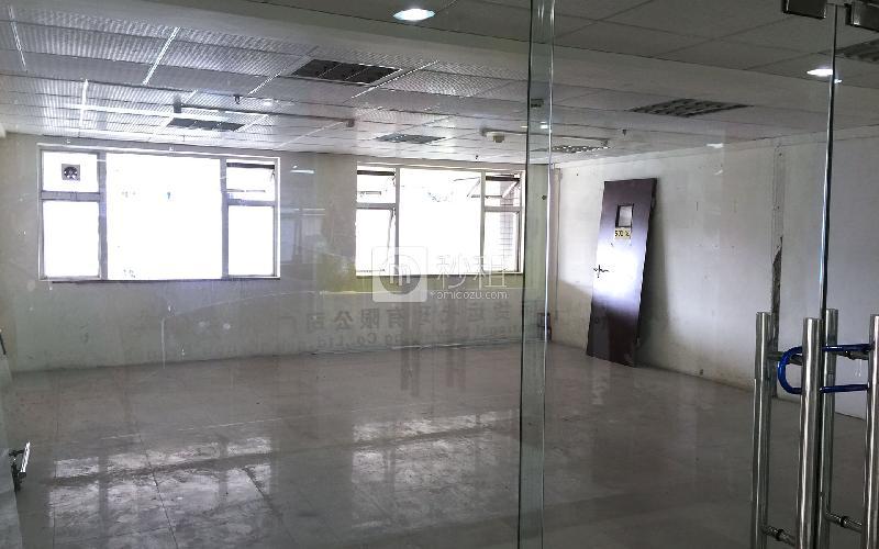 富力商贸大厦写字楼出租130平米简装办公室80元/m².月