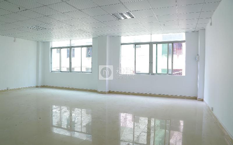 宏业创客大厦写字楼出租110平米简装办公室45元/m².月