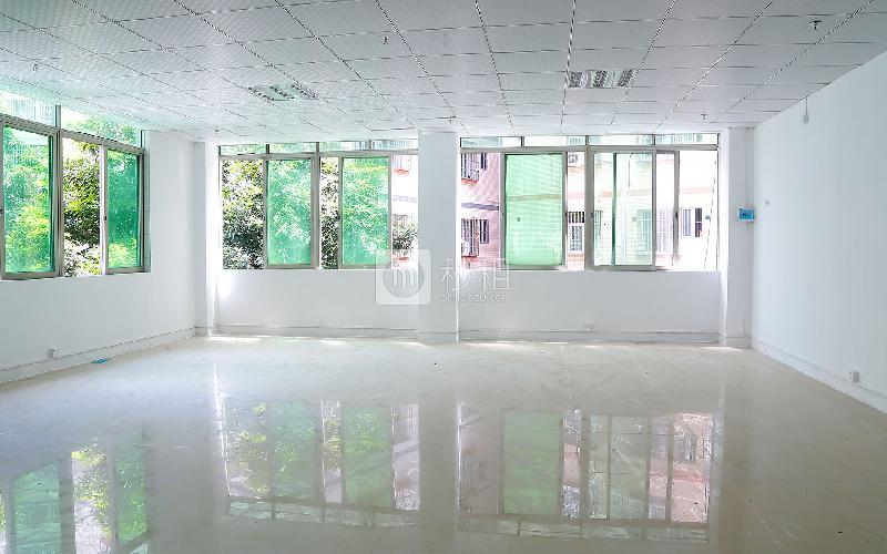宏业创客大厦写字楼出租160平米简装办公室45元/m².月