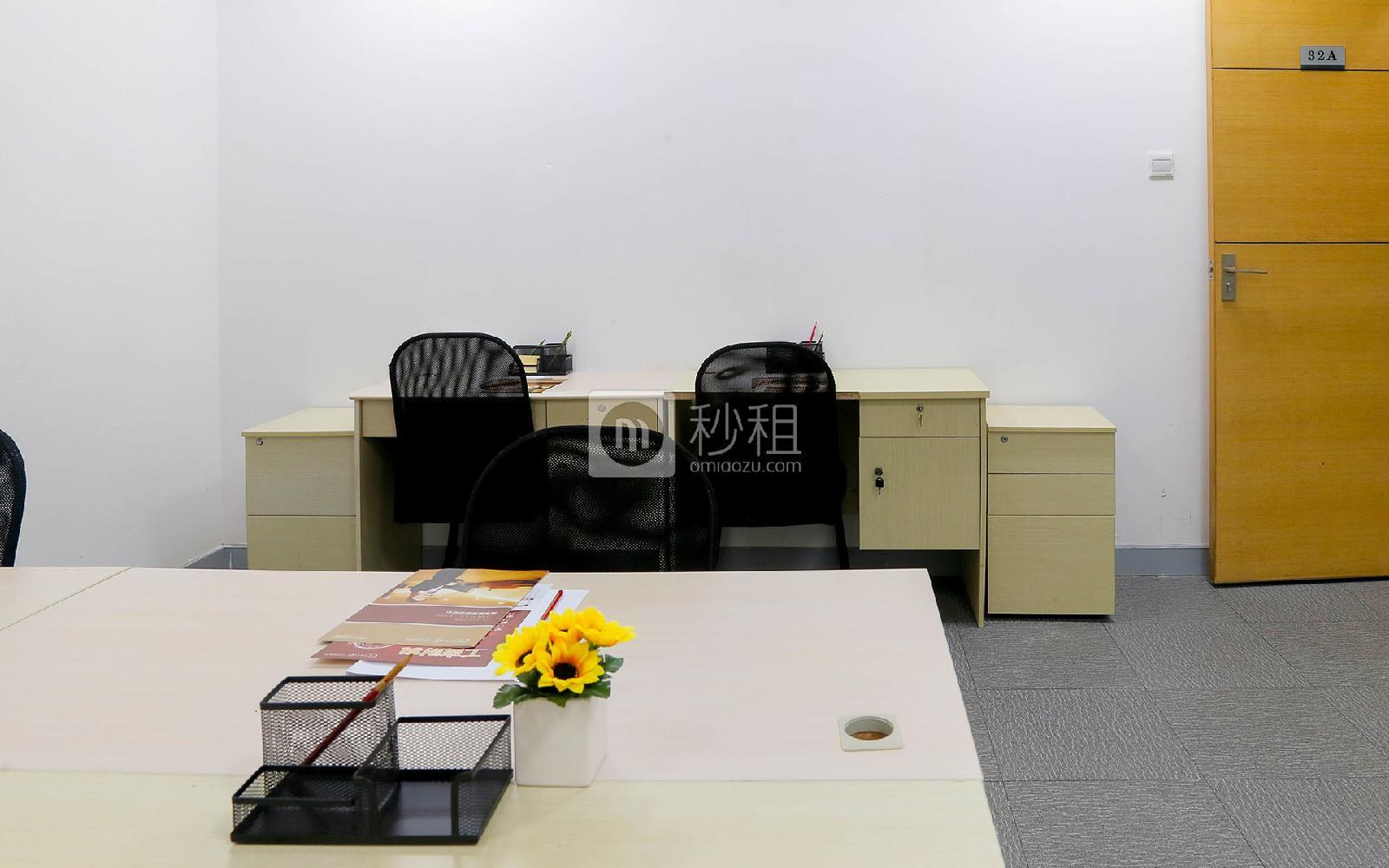 企创商务中心-海松大厦写字楼出租26平米精装办公室4888元/间.月