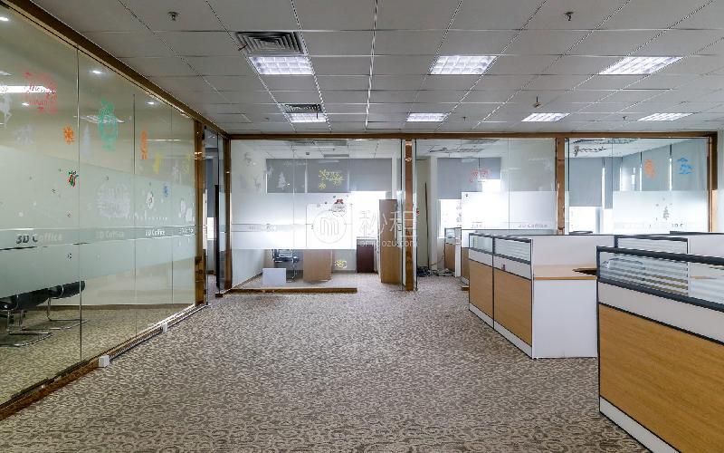 中央西谷大廈寫字樓出租296平米豪裝辦公室165元/m2.月