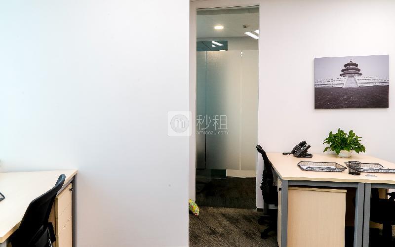 地王大厦-雷格斯商务中心写字楼出租22平米豪装办公室9000元/间.月