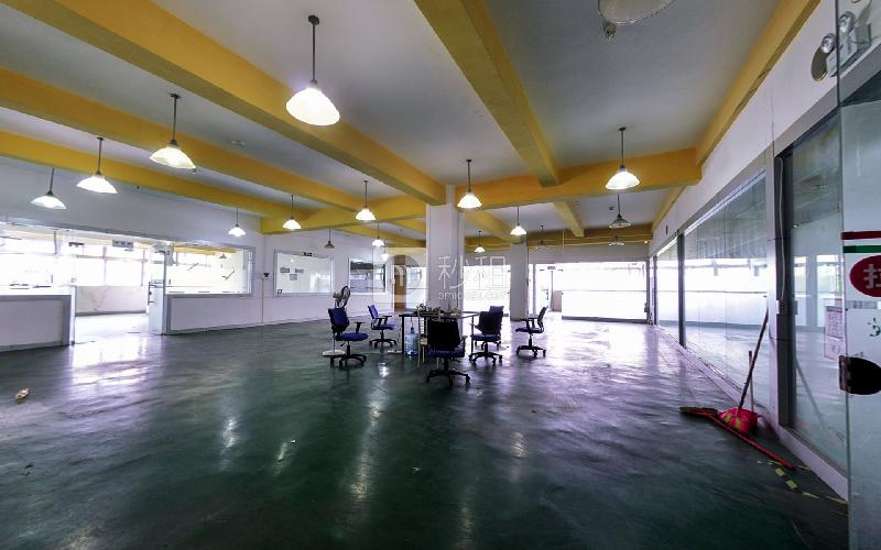 珠园大厦写字楼出租650平米毛坯办公室80元/m².月