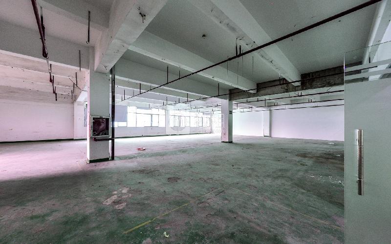 民企科技园写字楼出租290平米毛坯办公室49元/m².月
