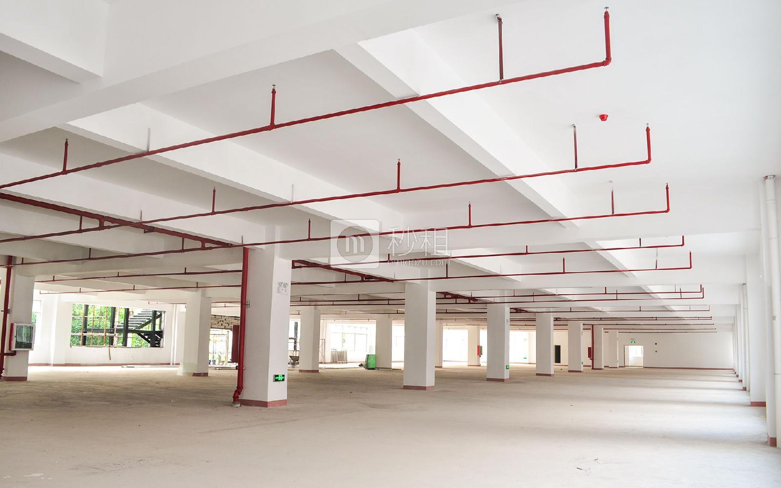 坂田国际中心写字楼出租406平米毛坯办公室60元/m².月