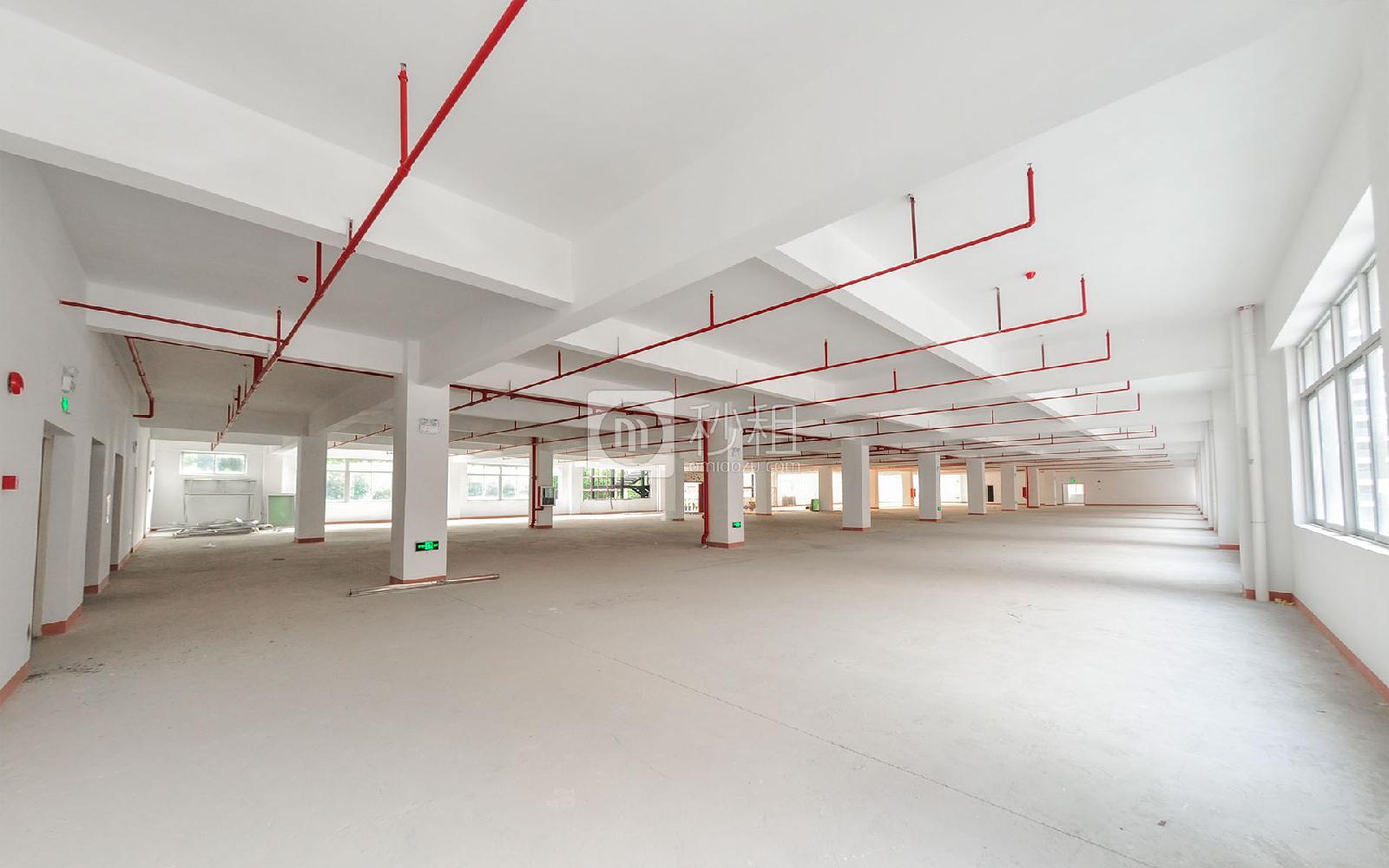 坂田国际中心写字楼出租455平米毛坯办公室55元/m².月