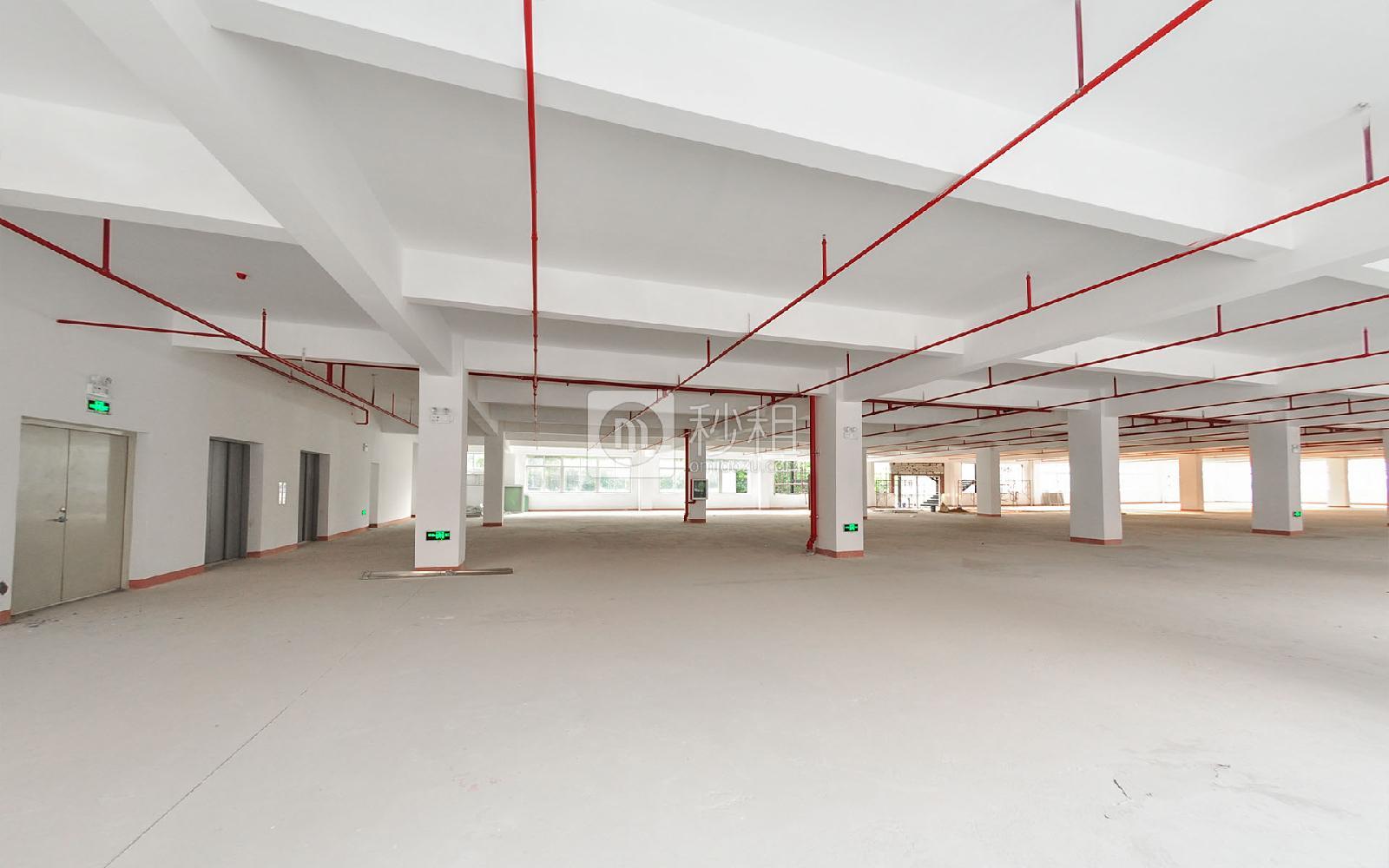 坂田国际中心写字楼出租558平米毛坯办公室55元/m².月
