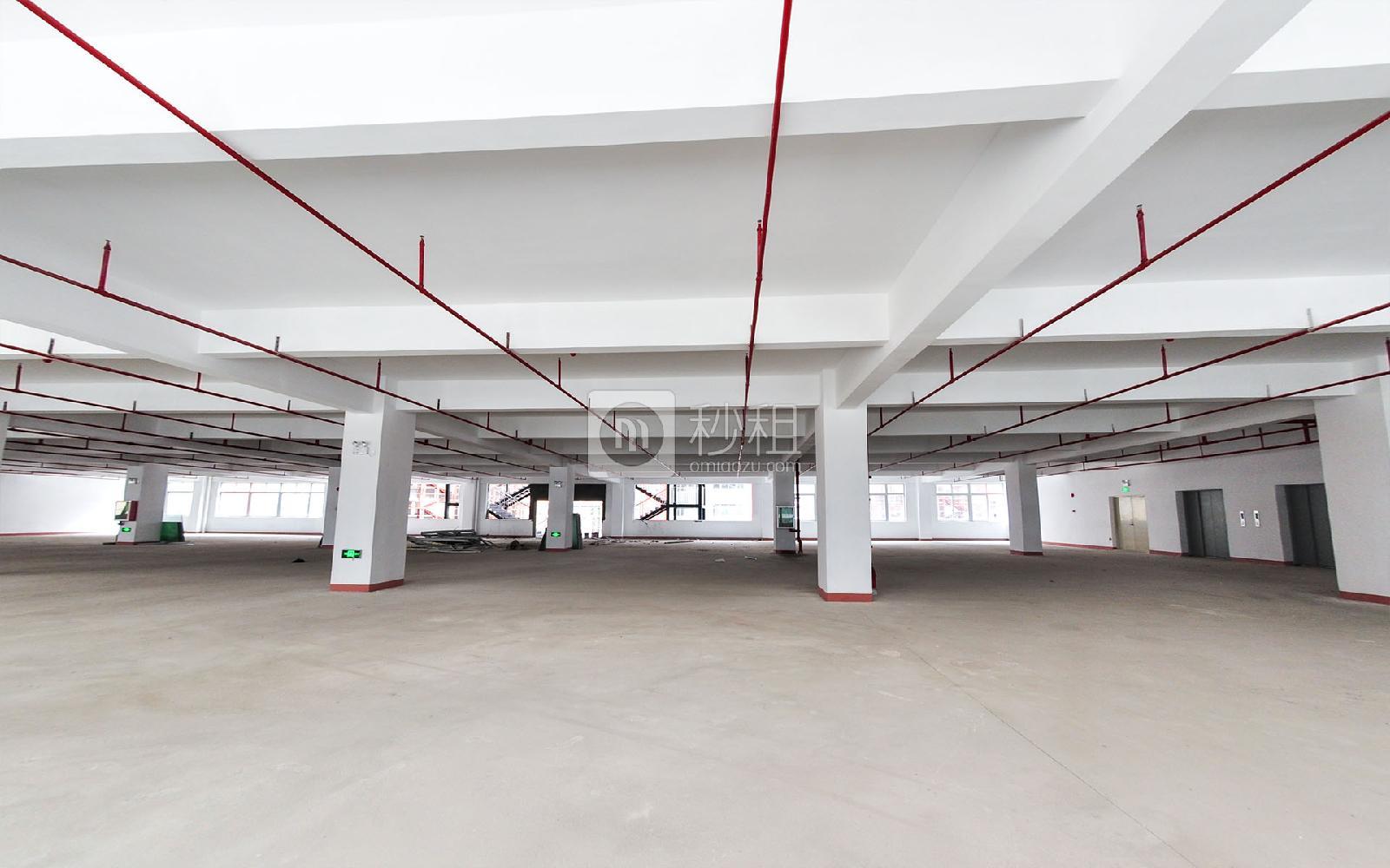 坂田国际中心写字楼出租1000平米毛坯办公室55元/m².月