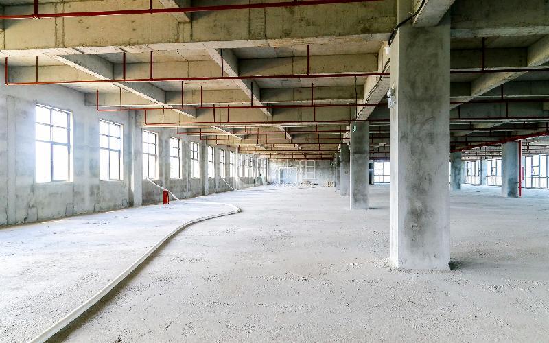 爱特爱创意产业园写字楼出租192平米毛坯办公室46元/m².月