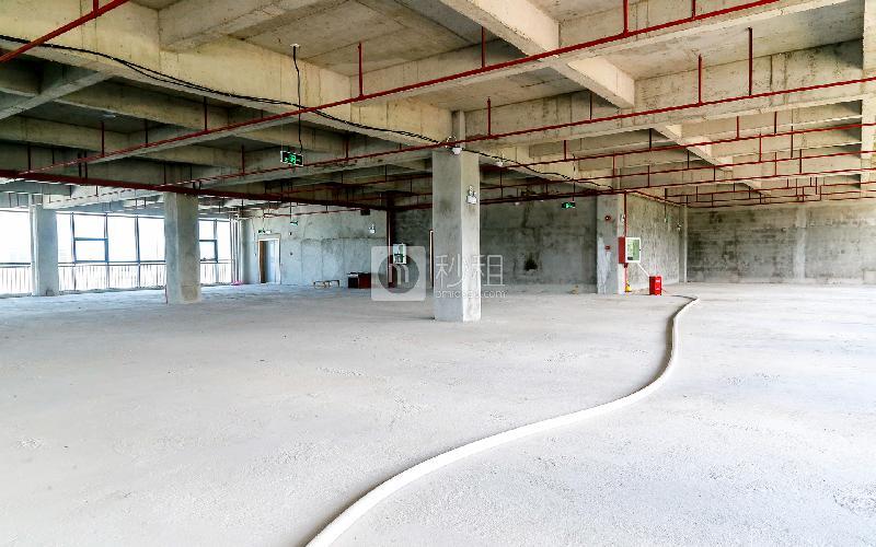 爱特爱创意产业园写字楼出租205平米毛坯办公室46元/m².月