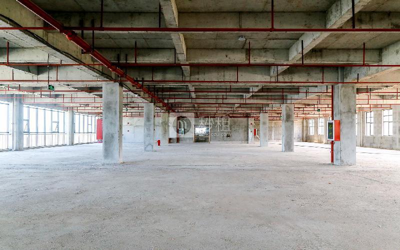 爱特爱创意产业园写字楼出租1235平米毛坯办公室46元/m².月
