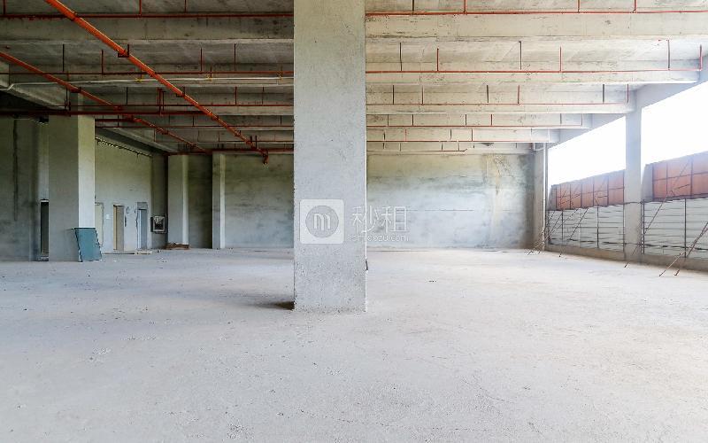 默根工业园写字楼出租372平米精装办公室25元/m².月