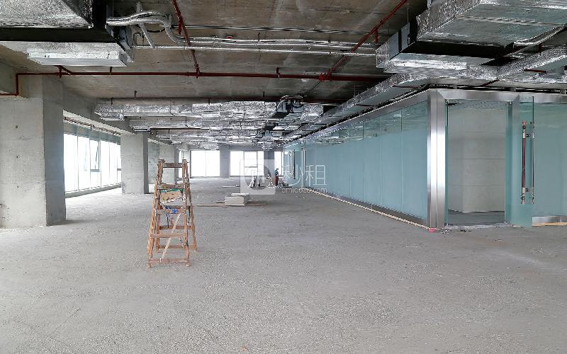 嘉安达大厦写字楼出租168平米毛坯办公室65元/m².月