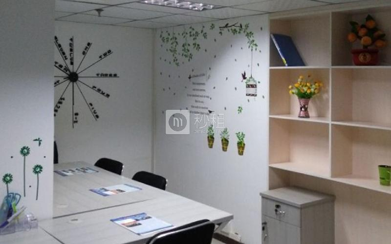 锦绣联合商务大厦-创富港写字楼出租10平米精装办公室5000元/间.月