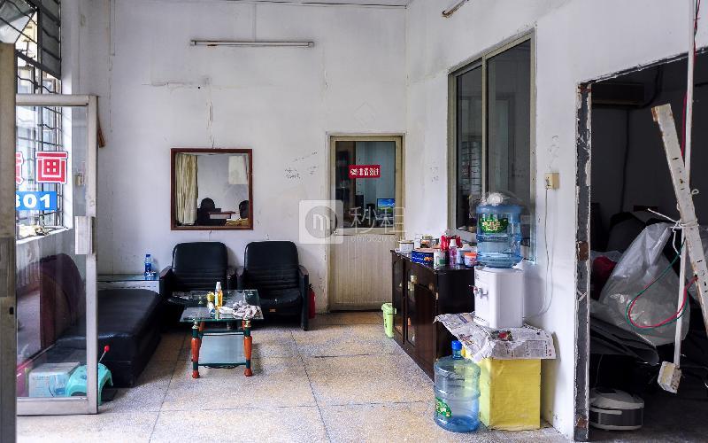 广州设计港金鼎产业园写字楼出租92平米简装办公室55元/m².月