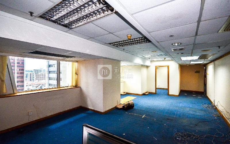 广东国际大厦写字楼出租107平米精装办公室155元/m².月