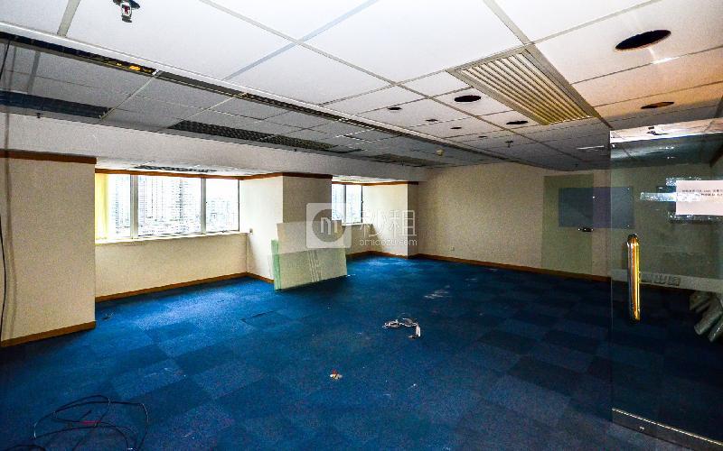 广东国际大厦写字楼出租126平米简装办公室155元/m².月