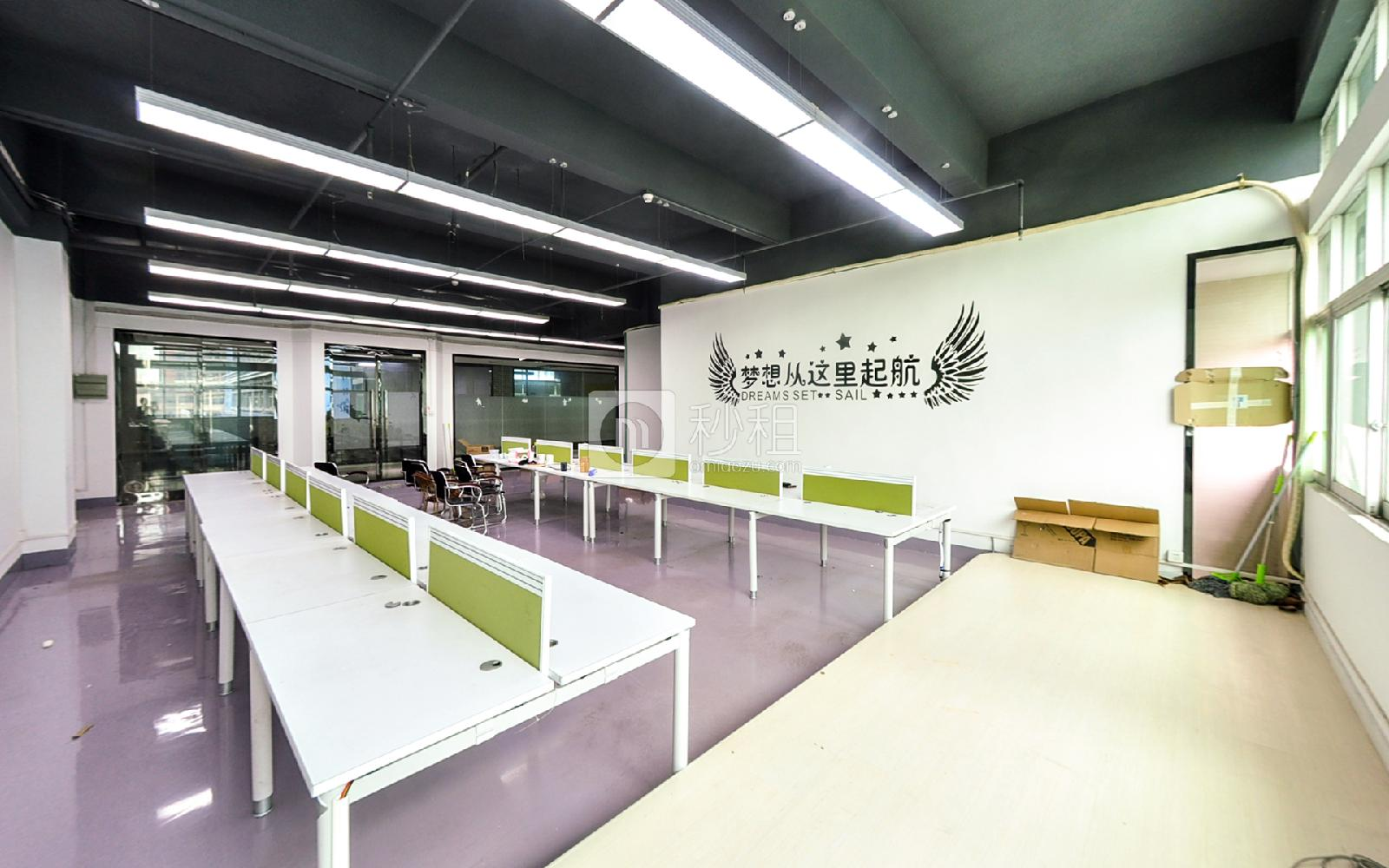 广兴源互联网创意园写字楼出租237平米精装办公室70元/m².月