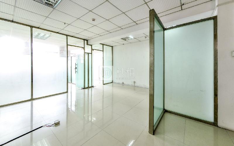 华盛辉商业大厦写字楼出租93平米精装办公室55元/m².月