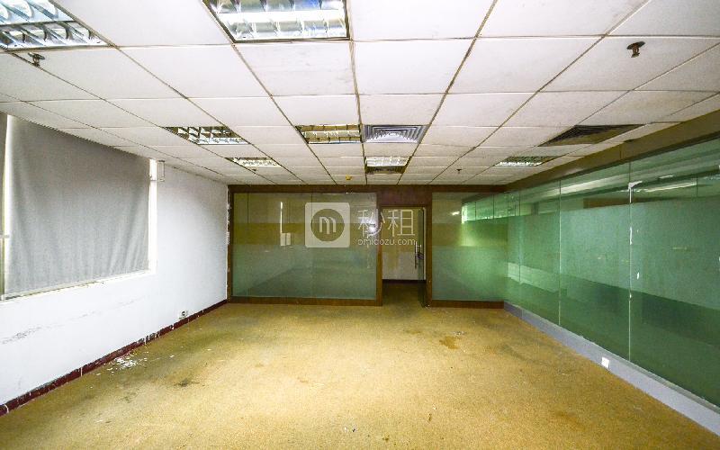 盘福大厦写字楼出租103平米简装办公室110元/m².月